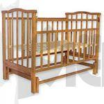 Кроватка детская Золушка-3 орех поперечн.маятник 52101