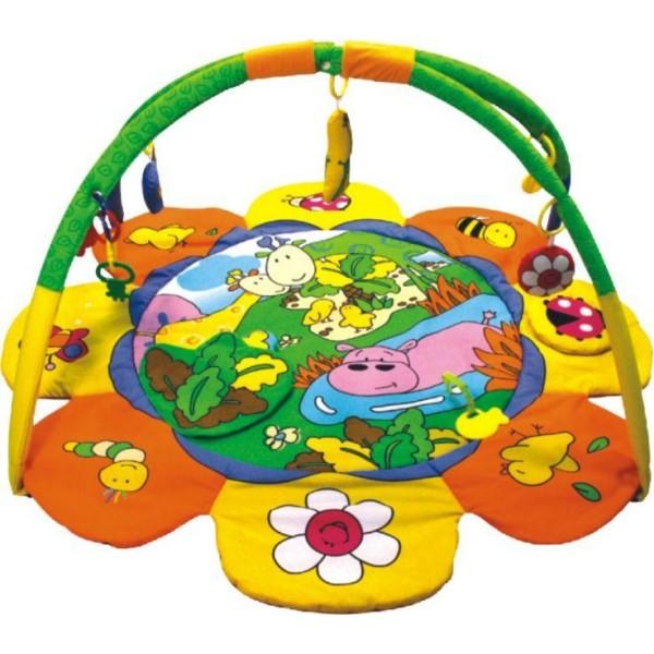 *Коврик развивающий Q/3126C д/новорожд. с мяг.игрушками