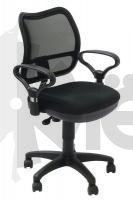 Кресло  БюрократCh-799AXSN  черный 664030