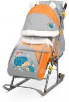 Санки-коляска Ника детям 6 цвет в ассортименте