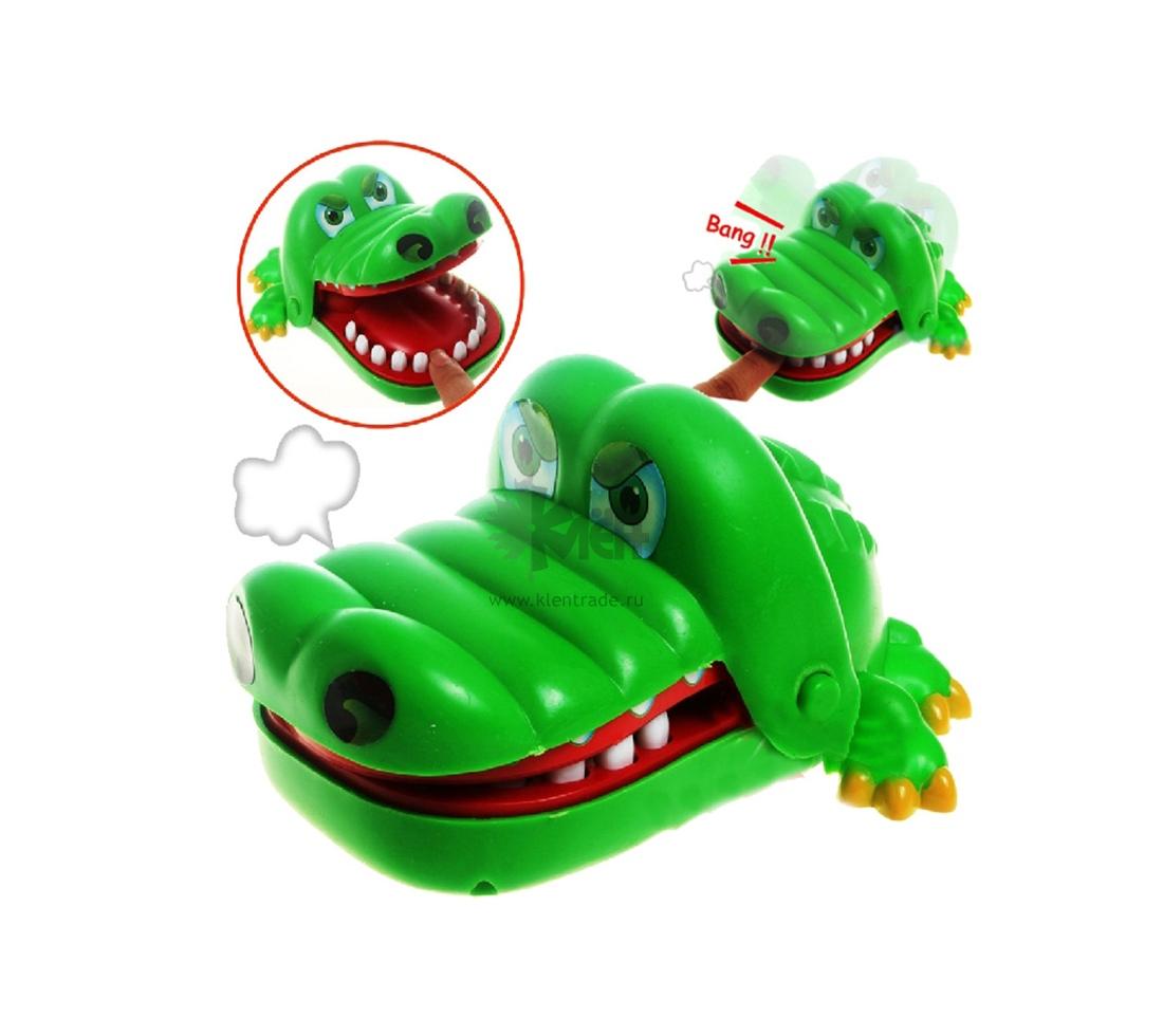 *Игра Счастливый крокодил HQ802