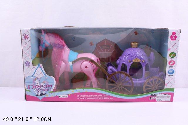 *Карета с лошадью 686-632