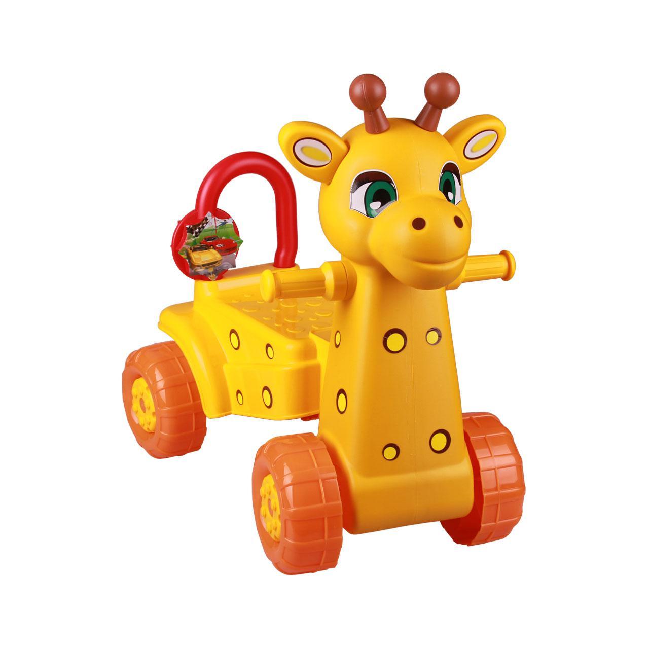 *Каталка Жираф М3892 желтый