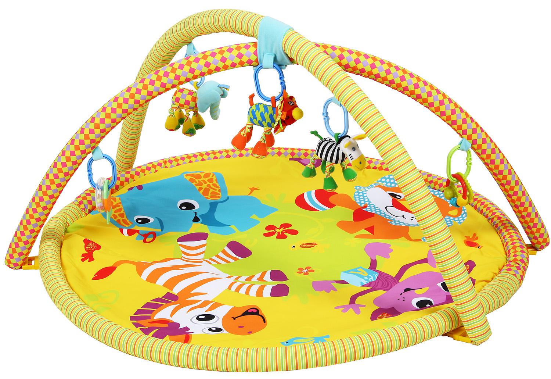 *Коврик развив. BT201101 д/новорожд., мяг.игруш