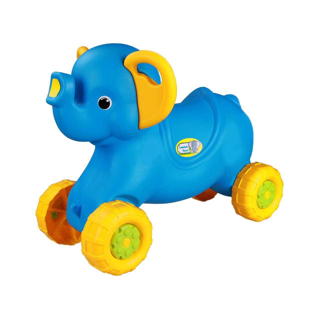*Каталка Слоненок М4937 голубой